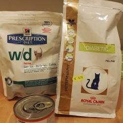 Alimentazione del gatto diabetico