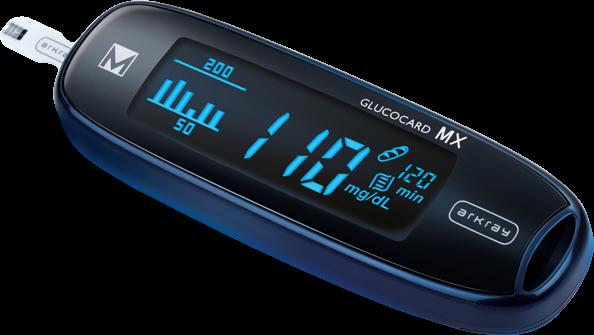 glucometro per la misurazione della glicemia